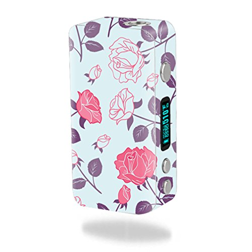 MightySkins Skin Compatible with Smok Koopor Plus 200W – Vintage Floral   Protective, Durable, and Unique Vinyl Decal wrap Cover   Easy to Apply, Remove, and Change Styles   Made in The USA