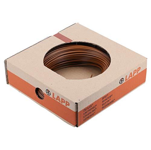 100m Lapp 4520031 PVC Einzelader H07V-K 1,5 mm² braun