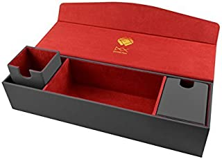 Dex Protection Game Chest Deck Box Grey - Holds 360 Sleeved cards