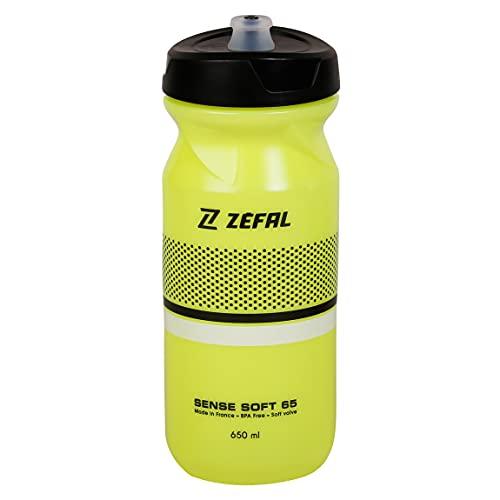 ZEFAL Botella de agua suave Unisex's Sense, amarillo, 650 ml