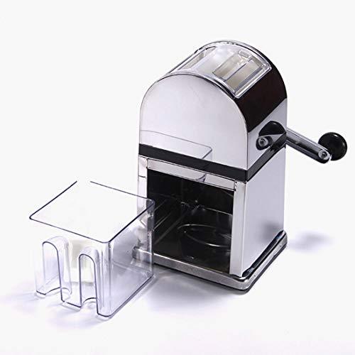 QWASZX Eisbrecher, tragbarer manueller Brecher, gewerblich, Haushalt, mit Rutschfester Basis, Klinge aus rostfreiem Stahl, perfekt für Ihre Lieblingscocktails