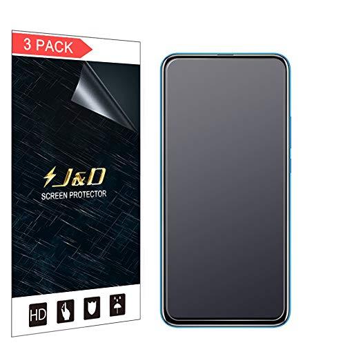 JundD Kompatibel für Huawei Honor 9X Schutzfolie, 3er Packung [Antireflektierend] [Nicht Ganze Deckung] [Anti Fingerabdruck] Matte Folie Bildschirmschutzfolie für Huawei Honor 9X Bildschirmschutz