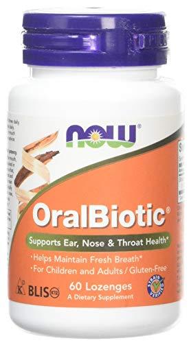 Now Foods, OralBiotic, 60 Lozenges