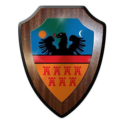Escudo Cartel/pared Placa/Escudo–Siete bürgen Trans silvanien karpaten Rumanía Escudo nadadores Emblema # 9250