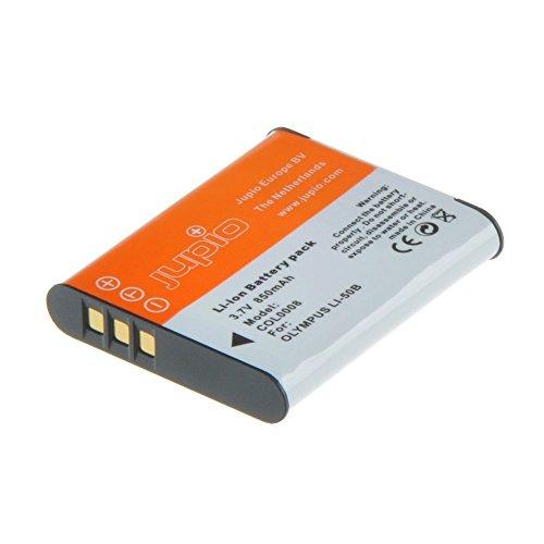 Jupio COL0008 - Batería para cámara Digital, Equivalente a Olympus Li-50B/NP-150/D-Li92/LB-050, 850 mAh