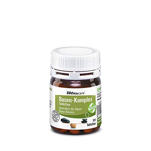 Basen Komplex Tabletten | Basische Nährstoffe und hochwertige Spurenelemente | Nahrungsergänzungsmittel | 120 Tabletten