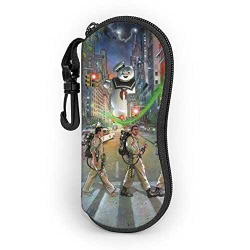 Ghostbusters - Custodia per occhiali da sole ultra leggera e portatile, in neoprene, con cerniera, custodia per occhiali da sole