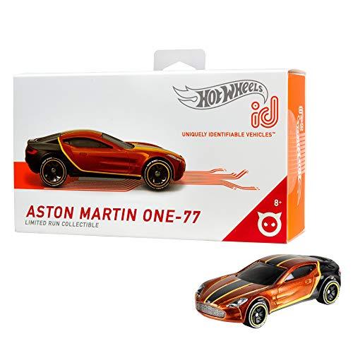 Hot Wheels- ID Die-Cast Aston Martin One-77 Scala 1:64, Macchinina Giocattolo per Bambini 8 + Anni, FXB07