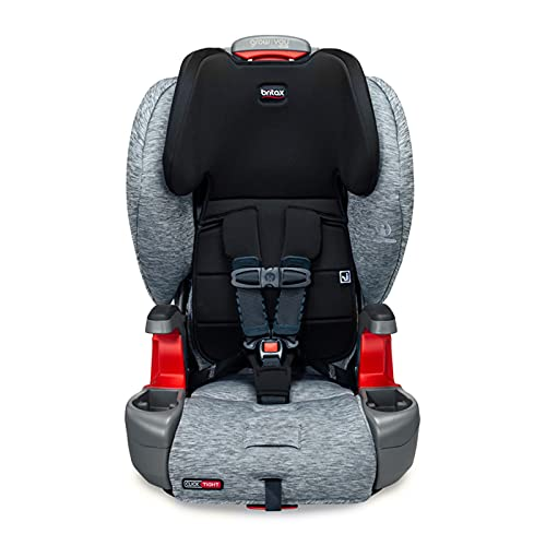 Britax Grow with You ClickTight Harness-2-Booster Car Seat, Spark - Premium, Soft Knit Fabric - 2 Layer Impact Protection - 5 Point Harness [New Version of Frontier]