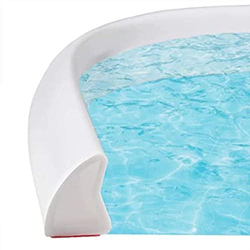 Tira Impermeable de Silicona Flexible,resistente a impactos junta transparente para ducha de cristal, Anticolisión, Insonorizada, Impermeable, a Prueba De Polvo, a Prueba De Viento 200cm