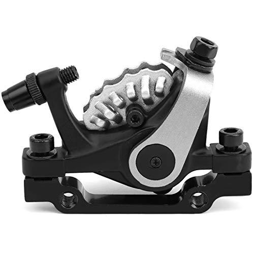 Keenso Vordere Scheibenbremse, Universal-Aluminiumlegierung Doppelantrieb Vordere Scheibenbremse Bilateraler Kolbenantrieb für Mountainbike, Elektrofahrrad