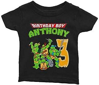 Personalize TMNT Birthday Shirt