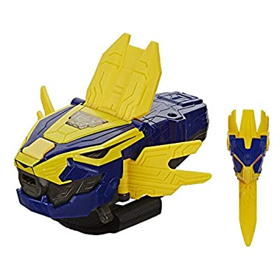 Power Rangers Beast Morphers Beast-X King Morpher Electronic Roleplay Toy Motion Reactive Lights and Sounds Inspired TV Show by Hasbro