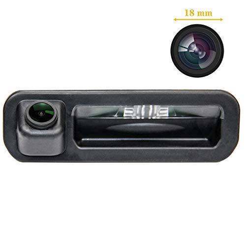 Fahrzeugspezifische Einparkhilfe Kamera integriert in Kofferraum Griff ,CCD Nachtsicht Rückfahrkamera für Ford Focus SE/Ford Focus ST/Ford Focus 2/Ford Focus 3/Focus Turnier MK3/Escort