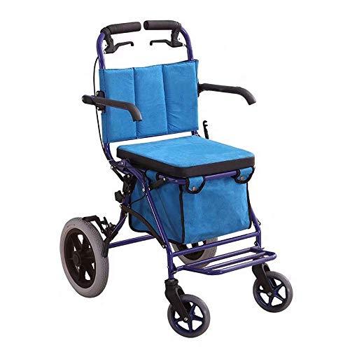shopping cart Wandergestell, Alter Einkaufswagen, Roller, Klappsitz, kann EIN vierrädriges Lebensmittelgeschäft nehmen