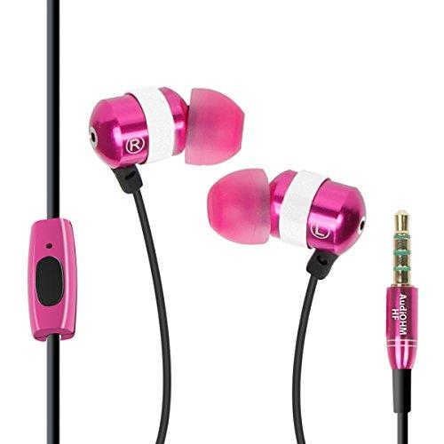 GOgroove AUDIOHMHF-BLU - Auriculares en oreja con micrófono, manos libres y reducción de ruido, compatible con Apple iPhone 6 Plus, Motorola Nuevo Moto G, BQ Aquaris E5, Sony Xperia M2, Nokia Lumia 52