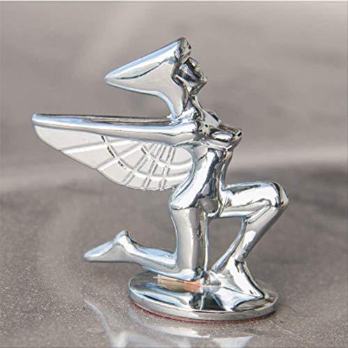 Fengfang Tamaño del Logotipo De La Diosa Soporte De La Cabeza del Caballo Logotipo Estándar del Águila Etiqueta Engomada del Coche del Metal del Oro Plateado Logotipo del Coche