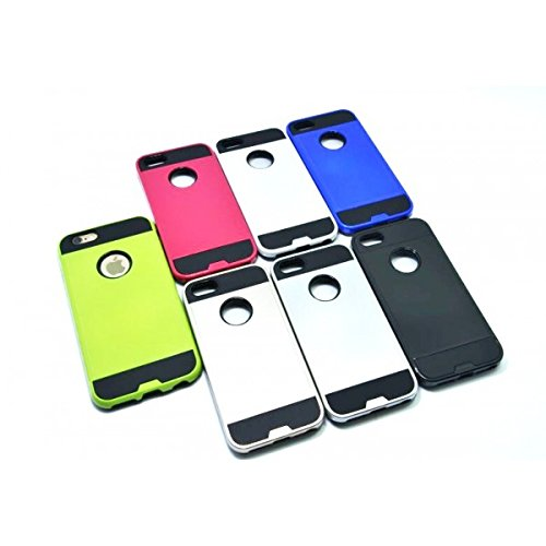 OBA STYLE Hülleone® Schutzhülle mit doppelter Beschichtung für verschiedene Smartphones GA (Samsung Galaxy S6, Schwarz)
