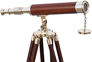 Brass/Wood Harbor Master Telescope 42