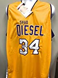 Shaquille O'Neal Los Angeles Lakers Signed Autograph Custom Jersey Shaq Diesel Embroidered Jersey JSA Witnessed Certified