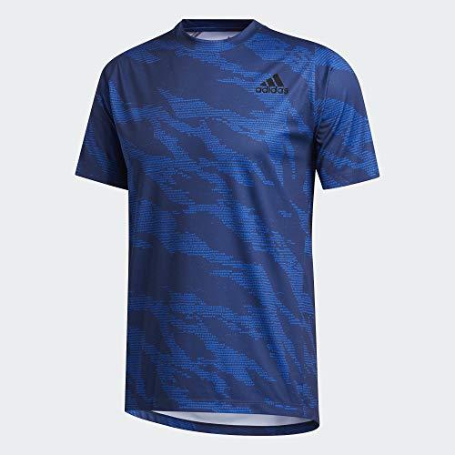 adidas Herren T-Shirts-FM2117 T-Shirt, Globlu, L