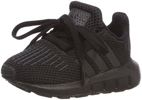 Adidas Swift Run I, Zapatillas de Deporte Unisex niño, Negro (Negbas/Neguti/Negbas 000),...