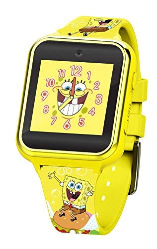 Nickelodeon Spongebob Touchscreen Interactive Smart Watch (Model: SGB4090AZ)