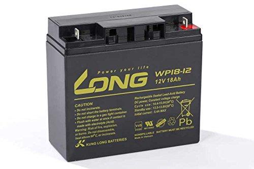 Kompatibler Accu DiaMec DM12-18 12V 18Ah Batterie AGM Blei Vlies Akku VDS