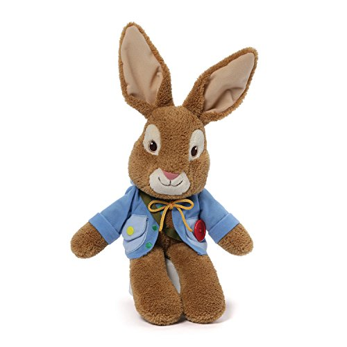 GUND for Nickelodeon Peter Rabbit Teach Me Stuffed Animal Plush, 9'