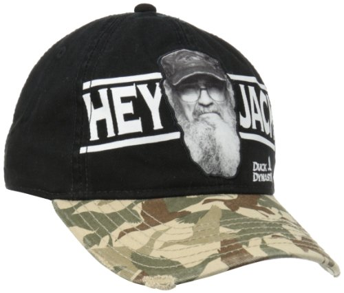 Duck Dynasty Hey Jack Camouflage Bill Adjustable Cap