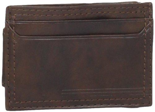 Dockers hombres de Slim magnético bolsillo delantero tipo cartera - Marrón -