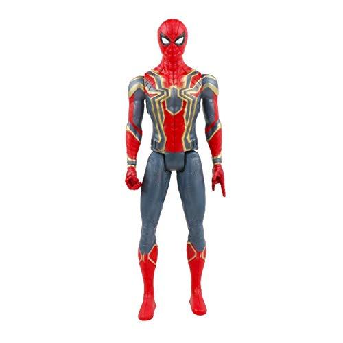N\C 30cm Marvel Avengers Juguetes Thanos Hulk Buster Iron Man Capitán América Thor Wolverine Pantera Negra Figura de acción muñecas