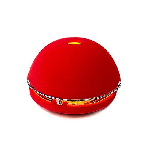 Egloo Rot - Multifunktionsprodukt mit mobile heizung, aroma diffuser, Luftbefeuchter, Luftreiniger, laterne und Zubehör deko für garten, Yoga, Büro, hochzeit, balkon, wohnzimmer