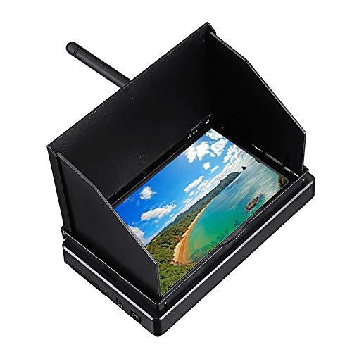 TOOGOO 5.8G FPV Empf?Nger Monitor 48CH 4.3 Zoll LCD Bildschirm Empf?Nger Monitor 16: 9 Auto Search FPV Monitor für RC Drhone Rennen Multi Rotoren
