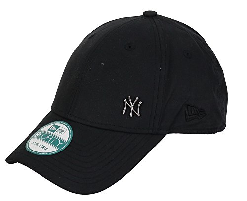 New Era New York Yankees - 9forty Adjustable Cap - Flawless Logo - Black - One-Size