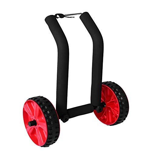 MROSW Verstellbare Trolley Leichte Dolley Stand Up Paddle Board SUP Surfbretträger Wagen Mit Leicht Zu Bedienen Strand Wheels