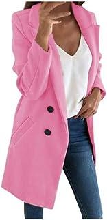 MINIKIMI Cappotto Donna Elegante Pelliccia Faux Giacca Donna Invernale Lungo Cappotti Donna Invernali Eleganti Parka Lunghi Elegante Trench Giubbotto Giubbino Donna Invernale