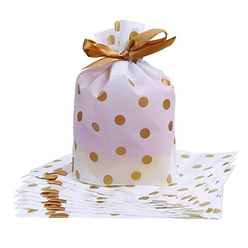 ラッピング袋 リボン マチ付き かわいい プレゼント用