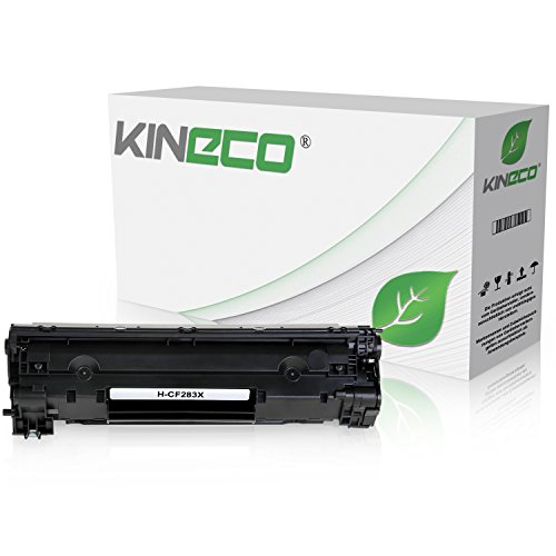 Kineco Toner kompatibel zu HP CF283X Laserjet Pro M125nw, M125rnw, Laserjet Pro M127fw, Laserjet Pro M127FN, MFP M225DW DN, Laserjet 128, 120 Series - 83A - Schwarz 2.200 Seiten