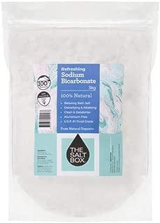 The Salt Box Natural Bicarbonate Soda 3kg USP Food Grade Resealable Bulk Bag
