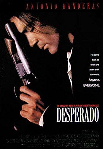 1art1 Desperado - Antonio Banderas, Salma Hayek, Quentin Tarantino Poster 98 x 68 cm