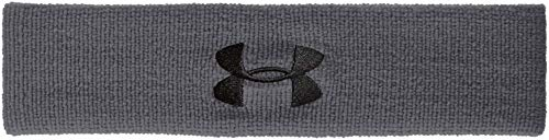 Under Armour Men's Performance Headband , Graphite (040)/Black , One Size Fits All