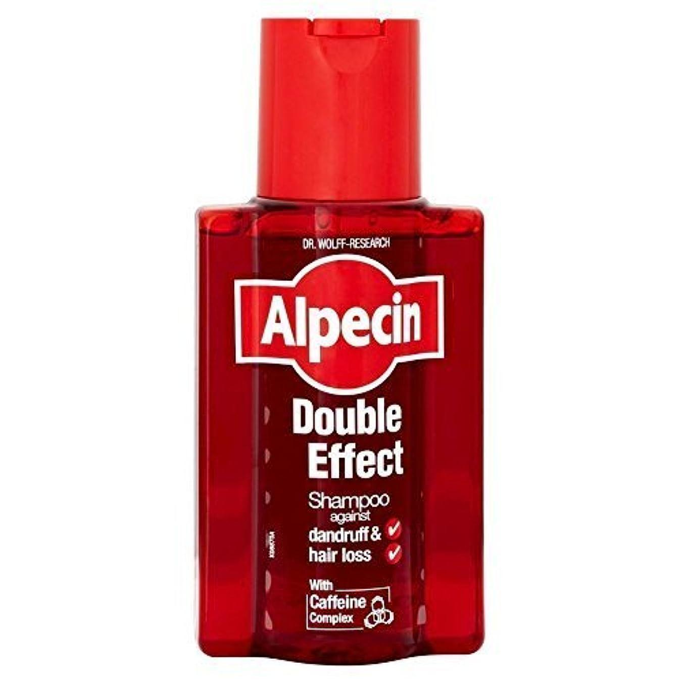 厳しっとりハウジングAlpecin Double Effect Shampoo (200ml) by Grocery [並行輸入品]