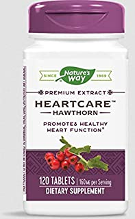 Nature's Way Heart Care (Hawthorn), Dietary Supplement, 120 Count (Pack of 1)