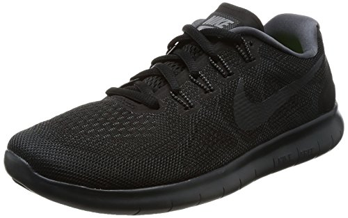Nike Damen Free RN 2017 Traillaufschuhe, Schwarz (Black/Anthracite/Dark Grey/Cool Grey 003), 36 EU