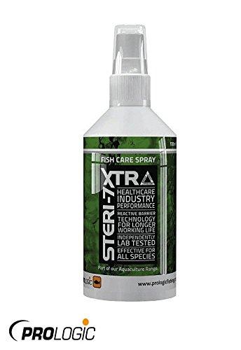 New Prologic Steri-7 Extra Fish Care Antiseptic Spray/ Biocidal Wipes (Fish Care Antiseptic Spray 100ml)