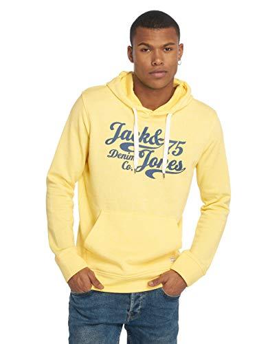 Sudadera amarilla Jack & Jones con capucha