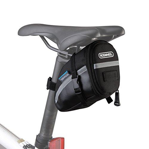 Roswheel Bolsa de sillín de bici bicicleta 15x8x9cm para bicicletas de...