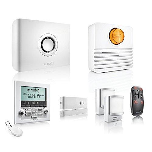 Somfy 2401427 Sistema di Allarme Wireless Protexiom Ultimate gsm, Bianco