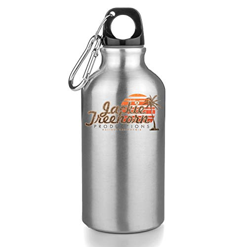 KRISSY Jackie Treehorn Productions Malibu California Botellas De Agua Botella De Acero Sport Camping Tourist Water Bottle